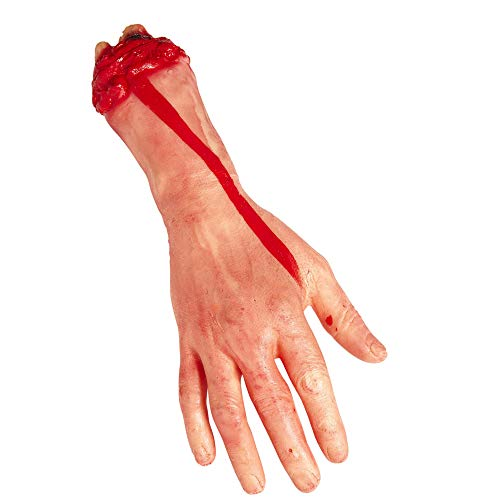 Widmann 81605 - Abgehackte Hand, in lebensgröße, Dekoration, Halloween