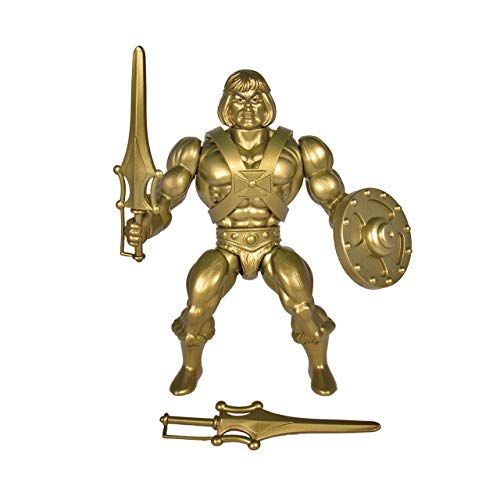 Super7 - Gold He-Man Masters of The Universe Vintage Wave 3 14 cm Figure - Figures StaticheFigures Statiche