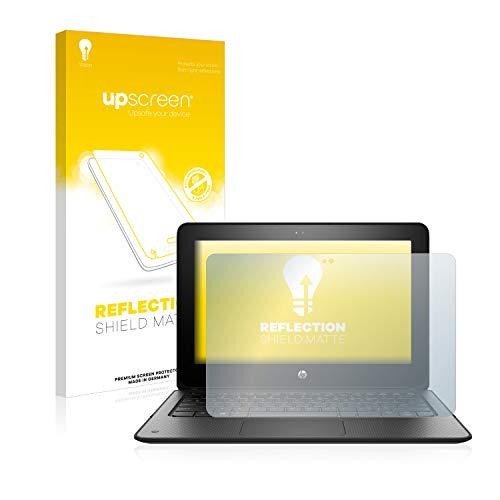 upscreen Entspiegelungs-Schutzfolie kompatibel mit HP ProBook x360 11 G1 EE – Anti-Reflex Bildschirmschutz-Folie Matt