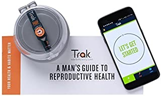 Trak Male Fertility Testing System: 4-Test Kit | Test Sperm Count and Semen Volume At Home | Indicates Results as Low, Moderate, or Optimal for Conception | FSA/HSA Eligible | Accurate as Lab Tests