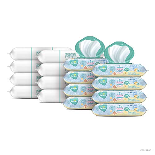 Baby Wipes, Pampers Baby Diaper Wipes, Complete Clean Scented, 1152 Total Wipes