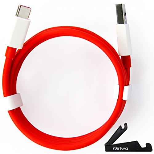 OnePlus 3/3T/5/5T/6 Cable, ÁpexTech USB Datos Cargador Cable, Tipo C, 106cm