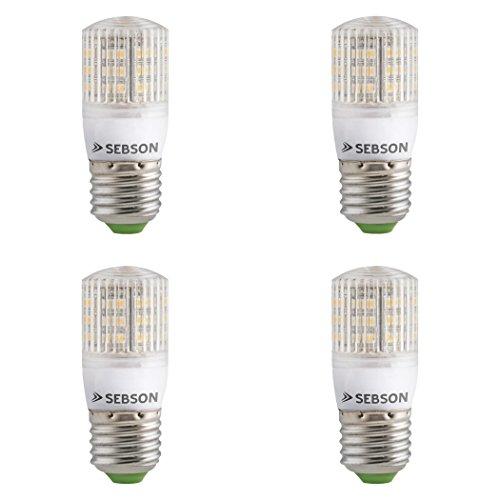 SEBSON® 4er Pack E27 LED 3W Lampe - vgl. 25W Glühlampe - 240 Lumen - E27 LED warmweiß - LED Leuchtmittel 160°