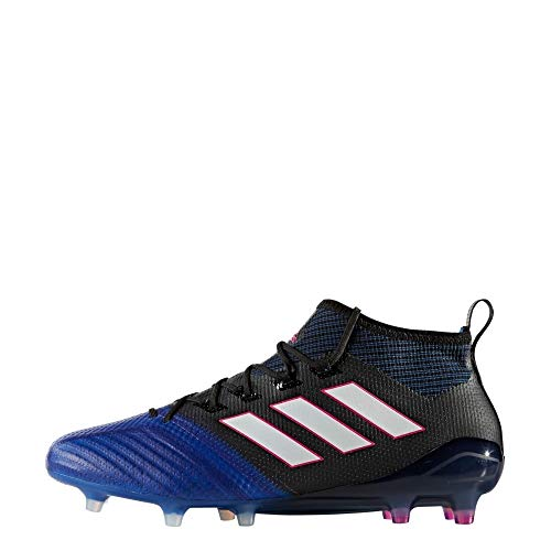 adidas Herren Ace 17.1 Primeknit Fg für für Fußballtrainingsschuhe, Schwarz (Nero Negbas/ftwbla/Azul), 39 EU