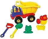 Idena 40161 - Sandspielzeug Set 6 teilig bestehend...