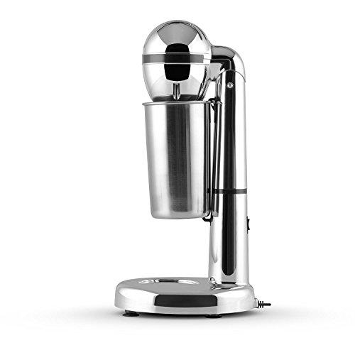 Klarstein Van Damme Drink Shaker – Milkshake Machine, Frappe Mixer/Blender for Protein Shakes, Cocktails, Frappe, 450 ml…