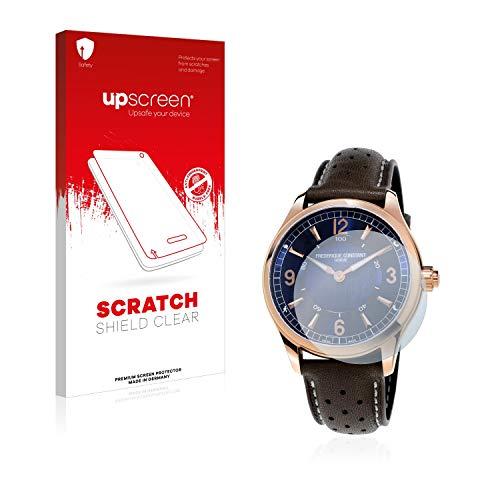 upscreen Schutzfolie kompatibel mit Frédérique Constant Horological Smartwatch – Kristallklar, Kratzschutz, Anti-Fingerprint