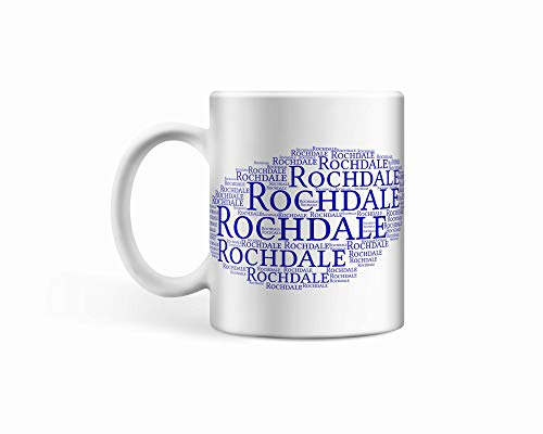 Rochdale FC Ceramic Cloud Mug/Cup