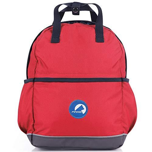 Finkid Repukka Rot, Kinder Kinderrucksack, Größe 11l - Farbe Red - Denim