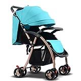 El plegamiento portable del carro de bebé puede sentarse cuatro estaciones el...