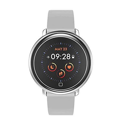 FEE-ZC Festival Gift Heren Smart Watch, Bel Sociale Stappenteller Informatie Herinnering Hartslag Oximetrie, Outdoor Sport Elektronische Horloge Smart Armband (Rubber)