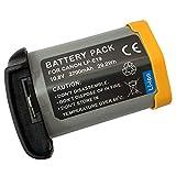 XITAI 10.8V 2700mAh 29.2Wh LP-E19 Remplacement Batterie pour Canon EOS 1DX, 1DX Mark...