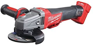 Milwaukee M18CAG115XPDB-0 M18 Fuel Breaking Grinder Paddle Switch (Naked-no Batteries or Charger), 18 W, Multi-Colour, Bar...