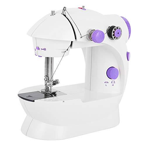 Portable Sewing Machine Crafting Mending Machine Mini Electric Dual Speed Handheld Sewing Machine for Beginners Girls