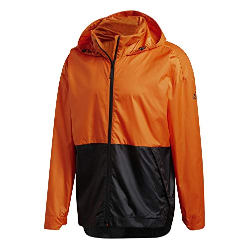 adidas Herren Jacke Urban Wind.Rdy Jacke, Orange/Black, 2XL, GE2083
