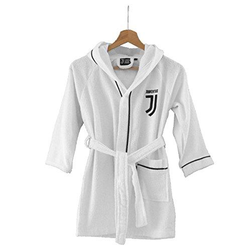 Juventus Accappatoio Ufficiale Juve microspugna per Adulto Salvaspazio R257 M
