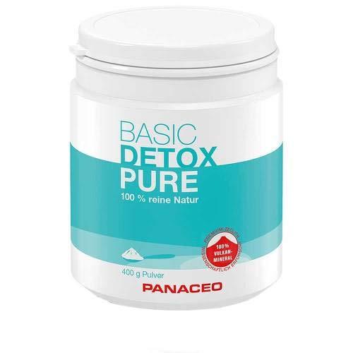PANACEO Basic Detox Pure 100% reine Natur Premium Zeolith Pulver, 400 g Pulver