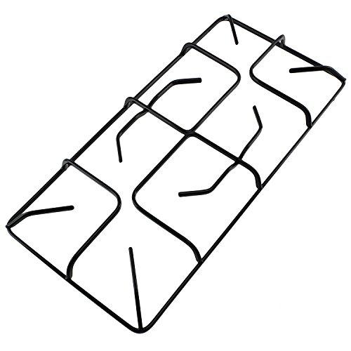 Spares2go Bratpfanne mit Ständer für Gaskocher Gas-Herd Ofen-470mm x 220mm