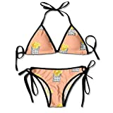 QUEMIN Bikini a Triangolo Sexy da Donna Popcorn scoppiato...