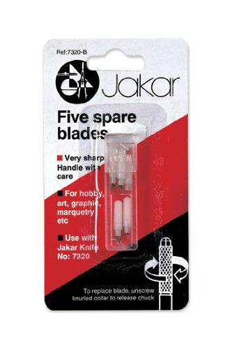 Five Spare Blades - #7320-B