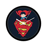 Mc Sid Razz Official DC Comics -Little Superman Wall Clock Gift Set Birthday
