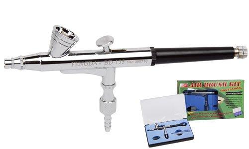 Pistolet á peinture Aérographe Fengda® BD-135 avec buse 0,2 mm