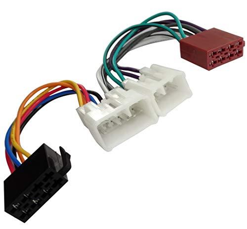 AERZETIX: Cavo adattatore spina ISO per autoradio C2061