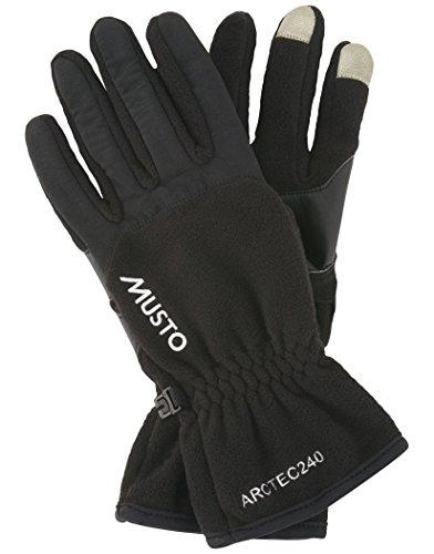 Musto Performance Fleece Handschuhe Schwarz S