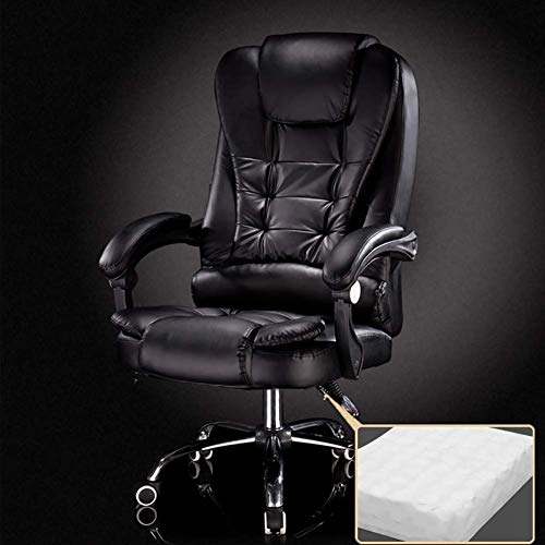 ZXL Computerstuhl Home E-Sports Game Stuhl Sitz Drehbare Rückenlehne Comfort Boss Chair Liegestuhl, B,Ein