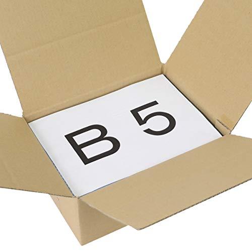 アースダンボール ダンボール 宅配60 オーバーフラップ箱 B5サイズ 10枚 【0348】