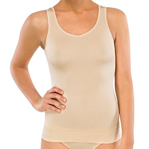 Schiesser Damen Unterhemd, Gr. 38 (Herstellergröße: M), Beige (nude 410)