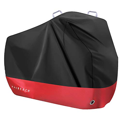 Faireach Funda Bicicleta Exterior Impermeable Red