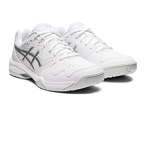 ASICS Gel-Dedicate 7, Zapatillas de Tenis Mujer, White Pure Silver, 39 EU
