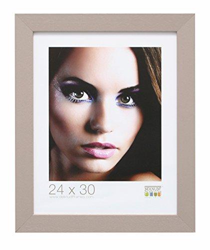 Deknudt Frames S226K9 fotolijst, hout, eenvoudige stijl, groot, 70 x 100 cm, taupe