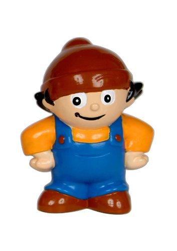 """POS 60964 - 3D Figur Mainzelmännchen """"Anton"""", Spielfigur aus PVC, circa 5,5 cm hoch, zum Sammeln, Tauschen und Spielen"""