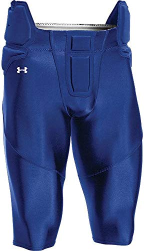 Under Armour Youth Integrated Football Pants (Royal, Youth X-Large)