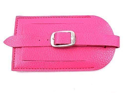 Luggage Tag (Hot Pink)