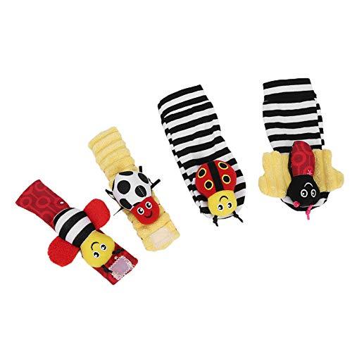 Calcetín suave para bebé, juguete para colgar calcetín infantil, calcetines para bebé,...