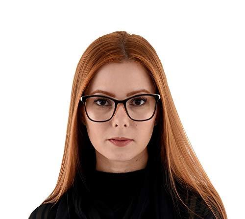 Oculos Grau Feminino La Belle Quadrado Marrom Dourado