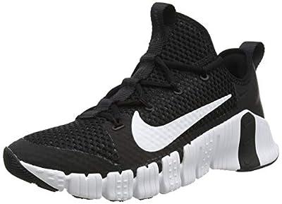 Nike Men's Football Soccer Shoe, Black White, Womens 10