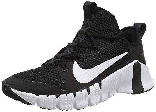 Nike Free Metcon 3, Scarpe da Calcio Unisex-Adulto, Nero/Bianco, 46 EU