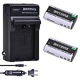 Batmax 2Pcs 2500mAh KLIC-8000 KLIC8000 DB50 Battery + Charger Kits for Kodak Easyshare Zx1 ZxD Z612 Z712 Z812 Z1085 Z1015 Z1012 Z1485 Z8612 is -  Batmaxusa