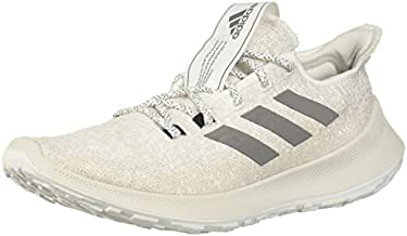 adidas Women's SenseBOUNCE + Running Shoe, White/Grey/Chalk Pearl, 5.5 M US