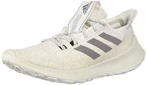 adidas Women's SenseBOUNCE + Running Shoe, White/Grey/Chalk Pearl, 11 M US