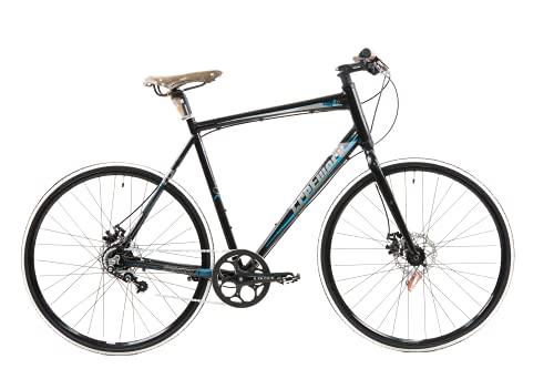 Tretwerk Subs 2.0 Bicicleta de Trekking, Men's, Negro-Azul, 28'