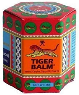 Tiger Balm (Red) Super Strength Pain Relief Cream 30g (pack of 10)