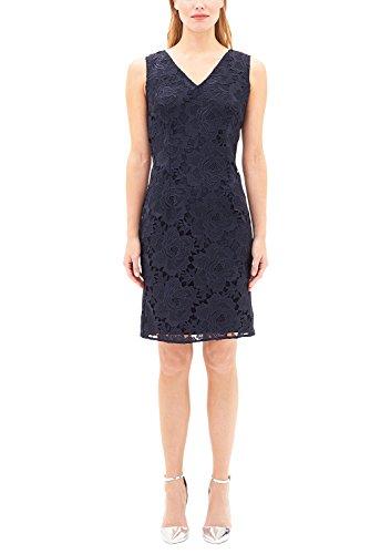 s.Oliver BLACK LABEL Damen 29707826645 Kleid, Blau (Promise Blue 5959), 38
