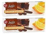 Sweet's Milk Chocolate Orange Sticks, 2 Pack; (10.5 oz. box)