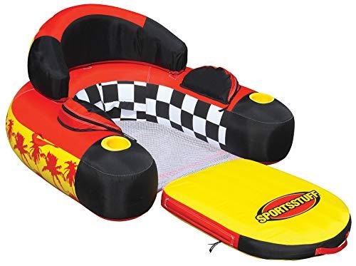 SPORTSSTUFF 54-1602 Siesta Lounge Inflatable Water Float Raft Lounger (4 Pack)