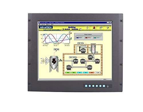 (DMC Taiwan) 9U Rackmount 19 inches SXGA Industrial Monitor with Resistive Touchscreen, Direct-VGA and DVI Ports